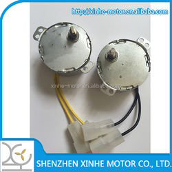low speed 6V electric fan synchronous motor