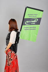 Outdoor Event Block Backpack Flags And Banners