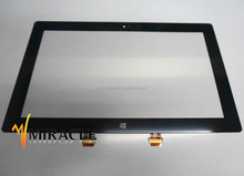 Hot sale 10.6 inch replacement laptop digitizer for Microsoft Surface RT2 1572 touch screen TCM10f55 v0.6-J13 glass