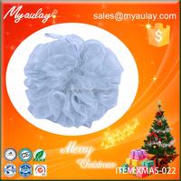 2015 new products christmas rope mesh bath sponge XMAS-022