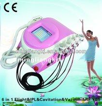 Most powerful 6 Handles mobile beauty salon equipment