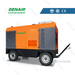 gold supplier heavy duty portable compressors with capacity 17m3/min