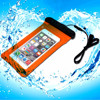 IPX8 cell phone pvc floating waterproof bag for iphone 6 plus