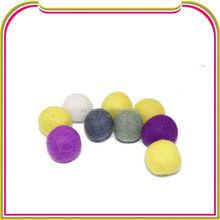 I033 Fashion 15mm Round Shape Wool Felt Ball