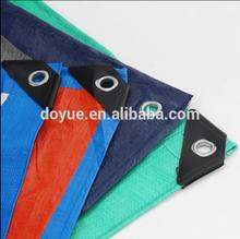 Malla pesada tela de vinilo tarpauline weifang el oro del sol de malla de plástico lona