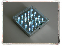 2015 hot sale led illuminated base light wedding high table decor decoration