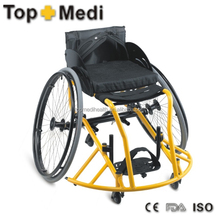Topmedi Aluminum manual folded lightweight leisure basketball sport wheelchair