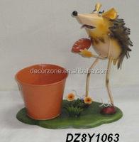 Garden Ornaments Hedgehog Planter Pot