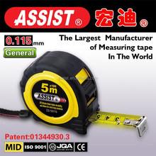 Professional Manufacturer Supply rubber tape measure Second injection molding magentic inches blade tape measure