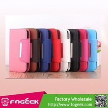 Detachable 2 in 1 Inner TPU Case + Wallet Lychee PU Leather Shell for Samsung Galaxy S5 G900