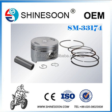 BEST SELLING motorcycle 150cc engine piston, motorcycle spare parts