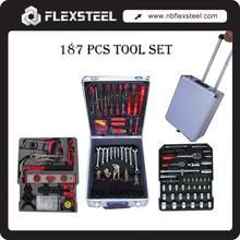 Flexsteel Profesional 186 Piezas CRV Calidad Kit de Herramientas