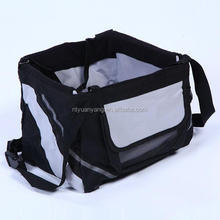 pet black pet bicycle bag out portable dog back pack bags