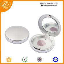 2015 Round compact powder case Pressed powder case Compact powder case with mirror