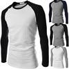 custom design casual slim fit stylish long sleeve t shirt