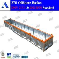Cargo basket offshore container equipment