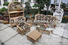 GW0105 wicker outdoor furniture garden sofa