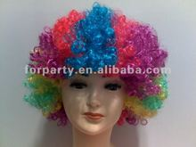 CW-0210-B Colorful party wigs Synthetic party wigs