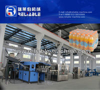 Complete PET Bottle Juice Production Line / Tea Filling Plant
