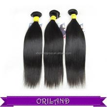100% Peruvian hair silk straight hair extention