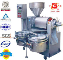 South Africa popular automatic heating and filter combined walnuts oil press