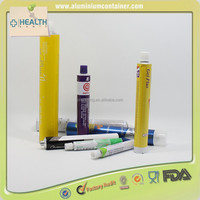 Aluminum Push Pops Collapsible Tube