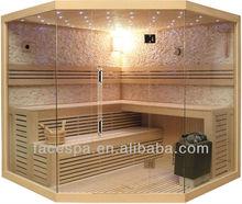 Dry steam saunas FS-1101 prefab summer house