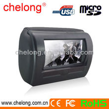 New arrived 7 inches High definition Headrest Entertainment System touch screen car headrest dvd player