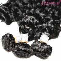 homeage 8a gorgeous remy bohemian curl human hair weave