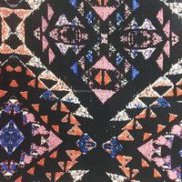 2015 xiangsheng leopard print wool viscose blend fabric