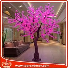 Toprex factory fashion IP65 pink light up cherry trees