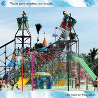 Used Water Slides of Amusement Park Machine Factory in China(SW-LC)