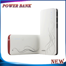 Rechargable long standing time real capacity 10000 mah usb power bank