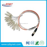 Hybrid Color Connector Mm Dx Sc Patch Cord Fiber Optic