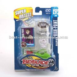 4d metal super beyblade top with launcher
