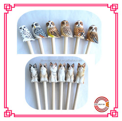 newest cute design wooden pencil for students