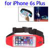 Top Selling Waterproof Sports Waist Bag Pouch for iPhone 6s with Earphone Hole