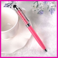 Beautiful Crystal bling stylus pen promotional cheap gift screen touch pen