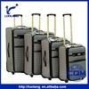 2015 hot sale 20/24/28/32 inch PU/PVC fashionable man/women travel luggage bags