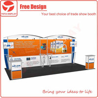 Yota Custom & Design Modular Portable aluminium frame exhibition equipment