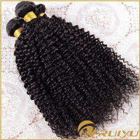 Hot products original unprocessed kinky curly chinese human hair
