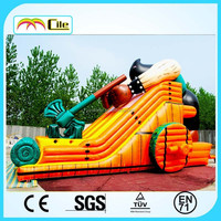 CILE 2015 Newest Gaint inflatable Axe Man bouncy slide castle for kids for sale