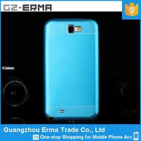 New Ultra Thin Hybrid Plastic Aluminum Metal Case for Samsung Galaxy Note 2 N7100