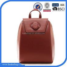 2015 genuine leather backpacks women fashion free shipping