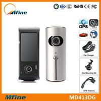 Most Popular Car Black Box In America Market 2.7inch Dual Camera Dash Cam X3000 G-Sensor GPS Car Black Box