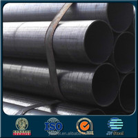 china black steel pipe of carbon Welded steel pipe for cement lined steel pipe