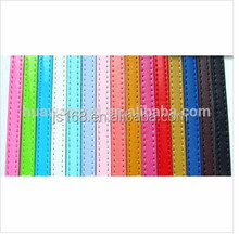 Wholesale cheap 8mm imitate genuine leather metered strap for DIY ornament