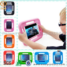 Kids Friendly Carry Handle Light Weight Plastic Case for iPad Mini 2