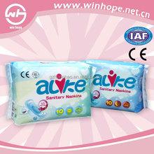 Grade A Comfortable Sanitary Napkin feminine hygiene products
