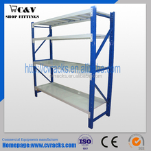 Light duty storage rack 100-300 kgs per layer for warehouse and supermarket storage